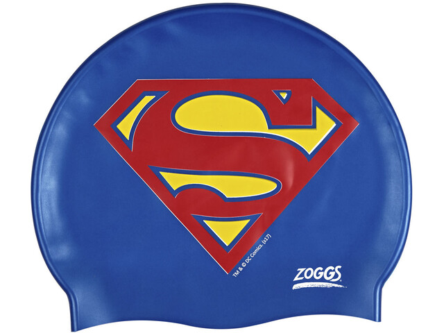 Zoggs Superman Silicone Cap